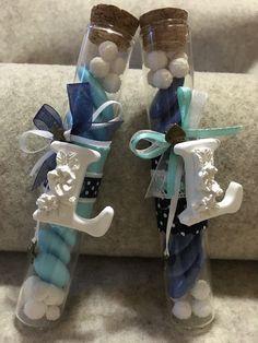 Fialettine bomboniera tiffany e blu - handmade il filo dei sogni