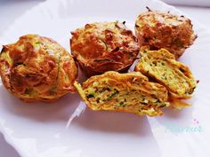 BUDINCA DE ZUCCHINI CU MORCOV - Flaveur Healthy Meals For Kids, Healthy Recipes, Baby Food Recipes, Zucchini, Muffin, Breakfast, Ethnic Recipes, Bebe, Recipes For Baby Food
