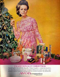 Campanhas Antigas de Natal da Avon | Design Innova