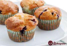 Cómo preparar un sencillos muffins de arándanos parecidos a los de Starbucks. Receta con fotos paso a paso, preparación y consejos