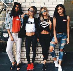 Imagem de girl, friends, and style
