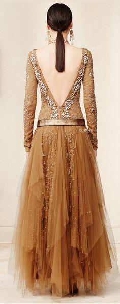 Ralph Lauren Beaded Sarena Gown