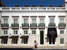 Inspira Santa Marta Lisbon Respecting the environment, this 4* Hotel has combined modern day comforts with eco-friendly materials. The rooms are tastefully decorated and have been designed with relaxation in mind, using Feng Shui to create balance, space and positive energy.