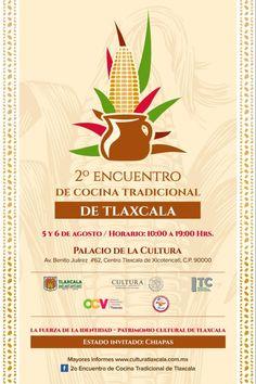 Con buen sabor de boca iniciará el Segundo Encuentro de Cocina Tradicional de Tlaxcala