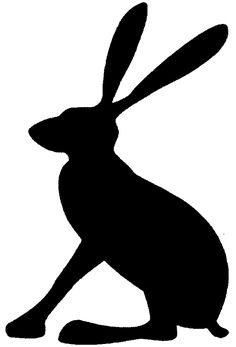 Image result for hare silhouette