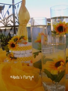 Sun Flower Baby Shower. Sunflower ...
