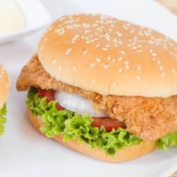 Copycat Sonic's Honey Mustard And Swiss Chicken Sandwich