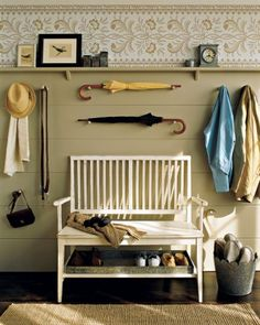 """See the """"Country Foyer"""" in our Entryway Organizing Ideas gallery"""