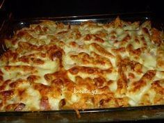 pasta soufflé in the oven Eating Well, Clean Eating, Healthy Eating, Healthy Food, Greek Recipes, Balanced Diet, Lasagna, Risotto, Recipies