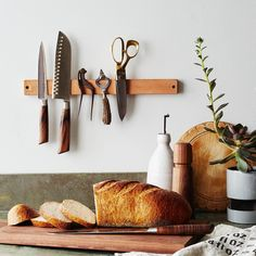 44 Astonishing Diy Decor Ideas To Upgrade Your Dining Room. Anytime you decide to update your dining room you need to focus your attention on. Large Framed Mirrors, Knife Storage, Custom Window Treatments, Food 52, Leather Design, Rustic Chic, Knife Block, Kitchen Decor, Kitchen Stuff