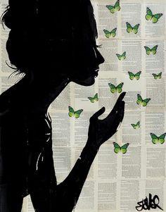 Loui Jover - Simplicity in Green