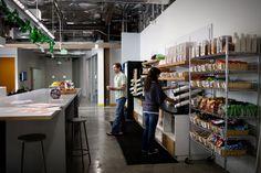 Mini Kitchen, Facebook Office@HQ, Menlo Park, California