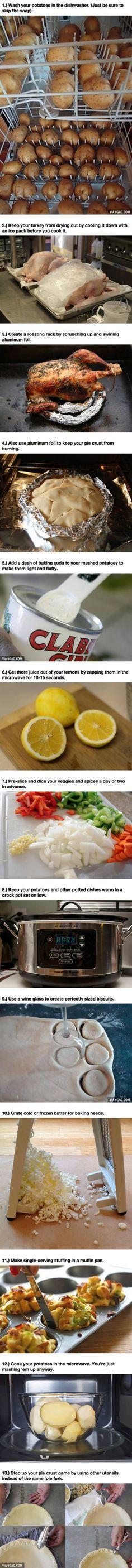 13 Cooking Hacks To Make Your Thanksgiving Dinner Delicious And Easy
