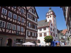Mosbach, Sehenswürdigkeiten der Grossen Kreisstadt Neckar-Odenwald