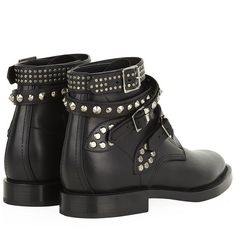 Saint Laurent Rangers Studded Boots and other apparel, accessories and trends. Browse and shop related looks.