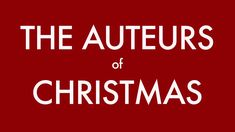THE AUTEURS OF CHRISTMAS / FOURGROUNDS