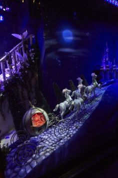 Harrods Disney Christmas Windows