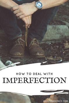 """How I'm Dealing with Imperfection   """"I have been at WAR with my imperfections…and I've been distributing unnecessary apologies as a result of my deep longing to always do, and say, the right thing. I set ridiculously high expectations for myself…and leave no room for grace. Because of this, I feel like I'm constantly failing people in small ways...I never feel good enough."""""""