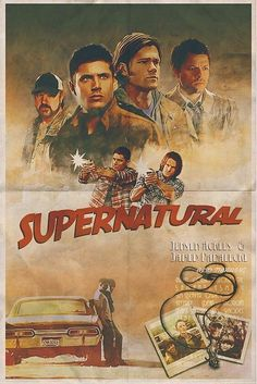 You are watching the movie Supernatural on Putlocker HD. When they were boys, Sam and Dean Winchester lost their mother to a mysterious and demonic supernatural force. Supernatural Fans, Supernatural Poster, Supernatural Wallpaper, Supernatural Background, Supernatural Cartoon, Dean Winchester, Winchester Brothers, Jensen Ackles, Destiel