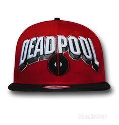 Images of Deadpool Big Logo 9Fifty Snapback Cap