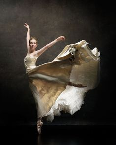 Billowing skirt. Michele Wiles, Artistic Director of BalletNext. NYC Dance Project.