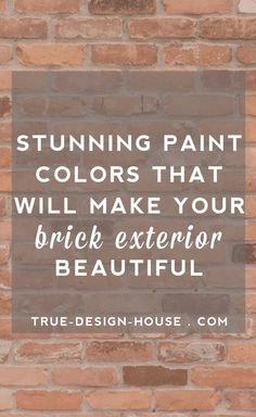 Need Some Design Inspiration For Your Brick Exterior?  Are you ready to breathe some new life into the outside of your home?  I'm  guessing the exterior of your house is feeling a little tired but you're  not sure how to repaint to make the best of the brick you already have  going on.  Getting some guidance from a professional designer is the right  next step!  There are a few basic design theories and practices that can  take a brick exterior from boring to knockout and I'm going to walk…