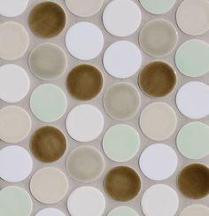Sepia, Smoke, Velum, Magnolia, Milk, Celadon - Modwalls Tile