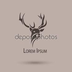 depositphotos_58340223-Vector-stylized-head-of-a-deer.-Abstract-art-logo.jpg (1024×1024)