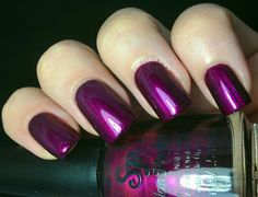 Salon Perfect's First Look Fall Polish Forecast Collection Swatch: Playful Plum