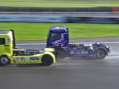 No 01 Matt Summerfield, MAN TGX, Class A at the (BTRC) British Truck Racing Championship at Brands Hatch 2016