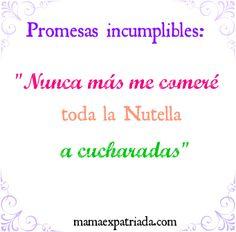 Promesas que no se pueden cumplir