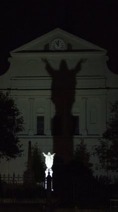 Shadow on St. Louis Cathedral