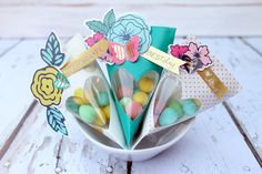 Party Favor Tutorial with the We R Memory Keepers fuse tool! #ad