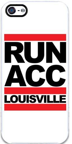 RUN ACC iPhone 5/5S Case from Share Louisville #GoCards #Louisville #CardNation #Kentucky #RunACC #LouisvilleFootball #ACC #ShareLouisville #BeatMiami #UofL #phonecase #iPhoneCase