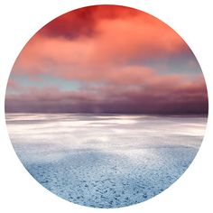 Ice Landscape Circle Photography, Printable Art, Digital Prints, Peace... ❤ liked on Polyvore featuring home, home decor, wall art, landscape posters, peace poster, photography wall art, sky posters and printable wall art