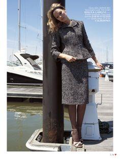 visual optimism; fashion editorials, shows, campaigns & more!: tehlikeli sarışın: toni garrn by cedric buchet for vogue turkey september 2013