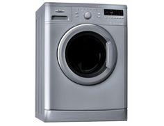 Masina de spalat rufe 6th Sense Whirlpool AWOC81201S, 1200 RPM, 8 kg, Clasa A++, Argintiu - Maşini de spălat rufe - Electrocasnice mari