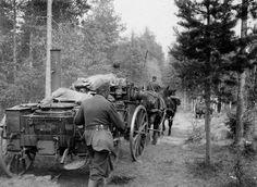 Hei Hoplaa! - Historiaa - Hevonen sodassa vuosina 1939-1945