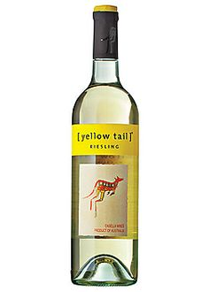 Yellow Tail Riesling... another good white wine