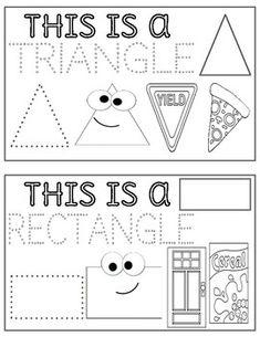 Homeschool Preschool Curriculum, Fall Preschool Activities, Kindergarten Writing, Preschool Printables, Preschool Worksheets, All About Me Preschool, Math For Kids, September Preschool, Shapes Worksheets