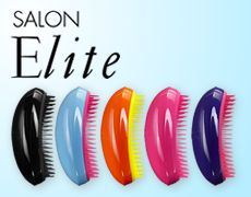 Tangle Teezer...wish I had found this product years ago! I have lots of fine strands that tangle easily. Only took a minute to comb through hair with this baby. Saves tons of time and pain!