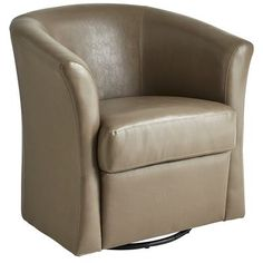 Etonnant Isaac Swivel Chair   Putty