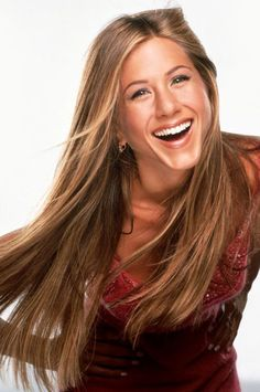 Jennifer Aniston...I wish my hair looked like that when I try to high light it