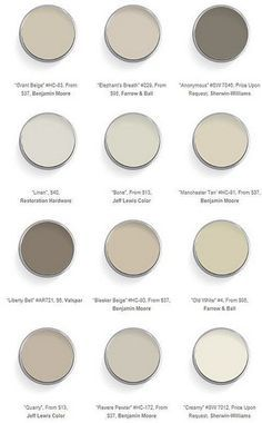 Amazing neutrals, perfect for a spa like environment