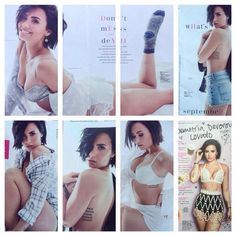 Demi's new photoshops for the September edition of Cosmopolitan