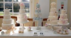 Part of my stand at Blenheim Palace Wedding Fayre. by Sweet Tiers Cakes (Hester), via Flickr