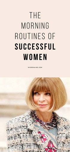 13 Successful Women Share Their Morning Routines From Anna Wintour to Rosie Huntington-Whiteley here's what they do first thing in the morning. The post 13 Successful Women Share Their Morning Routines appeared first on Gesundheit. Boss Lady, Girl Boss, Blogging, Rosie Huntington Whiteley, Rosie Whiteley, Along The Way, Business Women, Business Tips, Business Quotes