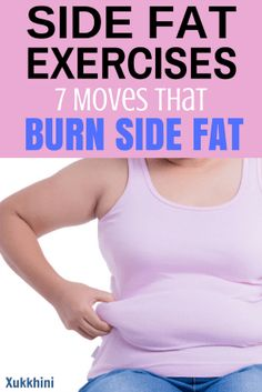 Side Fat Exercises: 7 Moves that Burn Side Fat Fast – Medi Idea Side Fat Workout, Slim Waist Workout, 100 Workout, Weight Loss Blogs, Fast Weight Loss, How To Lose Weight Fast, Rogue Fitness, Fitness Fun, Workout Session