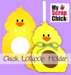 Chick Lollipop Holder: click to enlarge