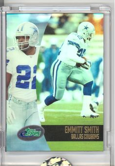 Emmitt Smith Dallas Cowboys 2002 card!
